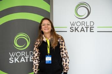 Jéssica Florêncio - Crédito: Divulgação World Skate