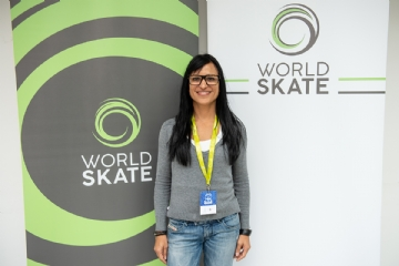 Renata Paschini - Crédito: Divulgação World Skate