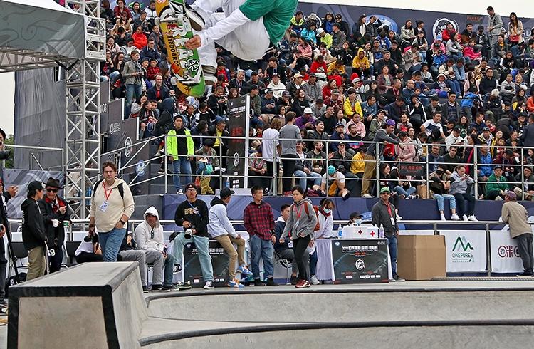 Corrida olímpica reúne Park e Street na Califórnia para disputa do Dew Tour