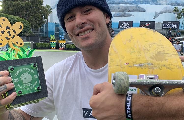 Skate brasileiro encerra Dew Tour com dois campeões, uma prata e um bronze