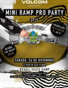 Volcom Apresenta Mini Ramp Pro Party 2018